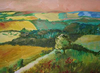 Painting - Patchwork by Julie Lueders