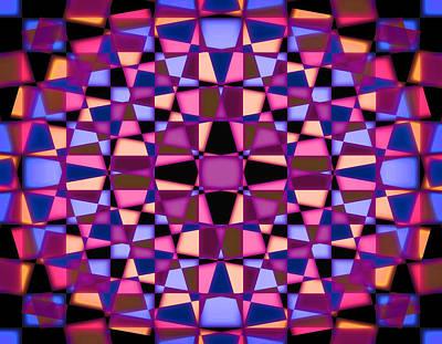 Travel - Kaleidoscope star 1 by Steve Ball
