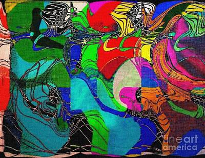 Digital Art - Patchwork by Kathie Chicoine