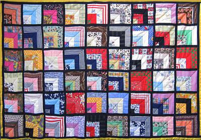 Eva Markos Tapestry - Textile - Patchwork Quilt 1 by Eva Sandor