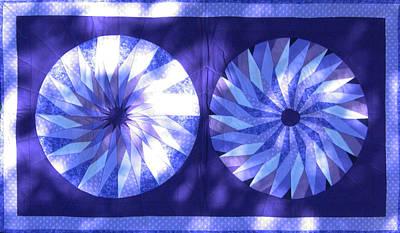 Eva Markos Tapestry - Textile - Patchwork Quilt 11 by Eva Sandor
