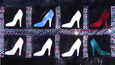 Eva Markos Tapestry - Textile - Patchwork Quilt 12 by Eva Sandor