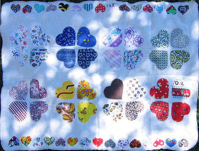 Eva Markos Tapestry - Textile - Patchwork Quilt 13 by Eva Sandor