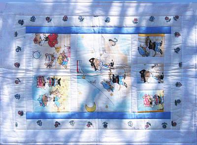Eva Markos Tapestry - Textile - Patchwork Quilt 14 by Eva Sandor