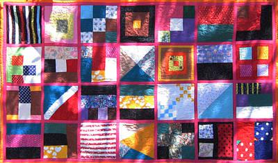 Eva Markos Tapestry - Textile - Patchwork Quilt 2 by Eva Sandor