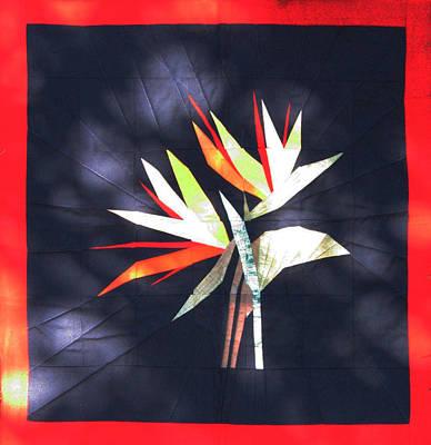 Eva Markos Tapestry - Textile - Patchwork Quilt 29 - Table Cover by Eva Sandor