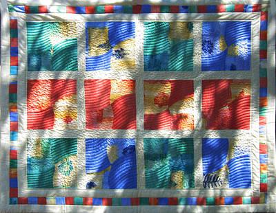 Eva Markos Tapestry - Textile - Patchwork Quilt 3 by Eva Sandor