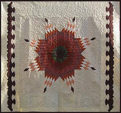 Eva Markos Tapestry - Textile - Patchwork Quilt 35 by Eva Sandor