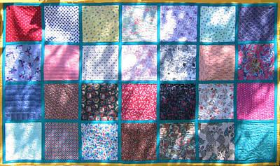 Eva Markos Tapestry - Textile - Patchwork Quilt 4 by Eva Sandor