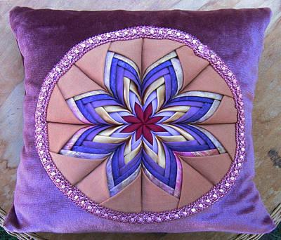 Eva Markos Tapestry - Textile - Patchwork Quilt 41 - Pillowcase by Eva Sandor