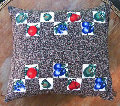 Eva Markos Tapestry - Textile - Patchwork Quilt 46 - Pillowcase by Eva Sandor