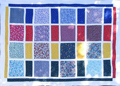 Eva Markos Tapestry - Textile - Patchwork Quilt 9 by Eva Sandor