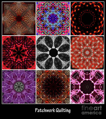 Photograph - Patchwork Quilting by Deborah Klubertanz