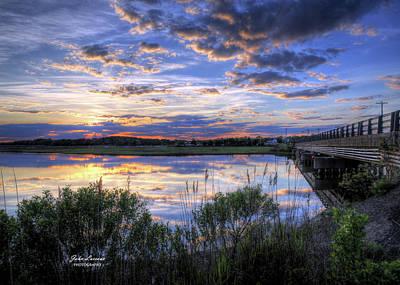 Photograph - Patcong Reflections by John Loreaux