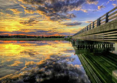 Photograph - Patcong Sunset by John Loreaux