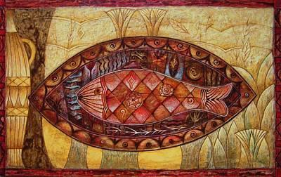 Painting - Patera by Kasia Blekiewicz