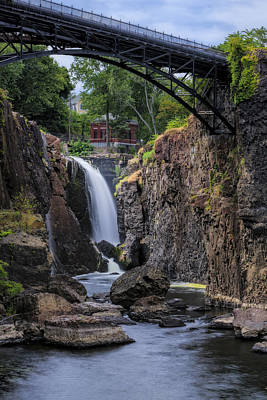 Photograph - Paterson Great Falls IIi by Susan Candelario