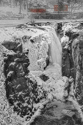 Photograph - Paterson Nj Great Falls by Susan Candelario