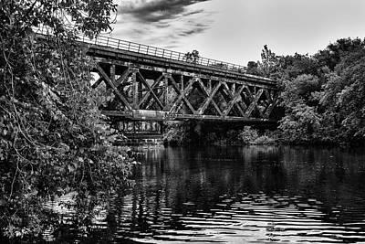 Photograph - Path Across by CJ Schmit