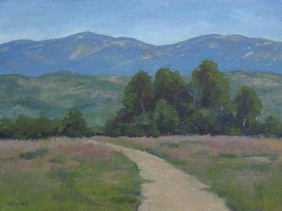 Painting - Path At Carpinteria Bluffs Series Five by Jennifer Boswell
