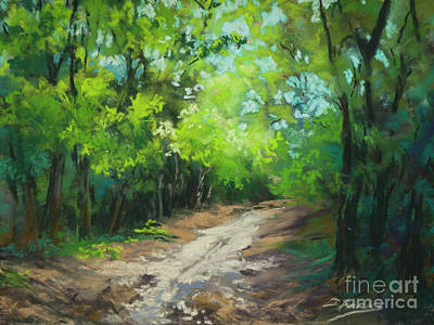 Painting -  Path At Wolf River by Dianne Parks