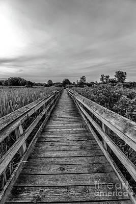 Rickety Bridge Photograph - Path Forward by Andrew Slater