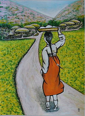 Painting - Path Home by Silvia Gold