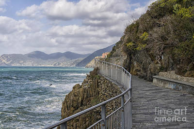 Old Masters - Path in CinqueTerre by Patricia Hofmeester