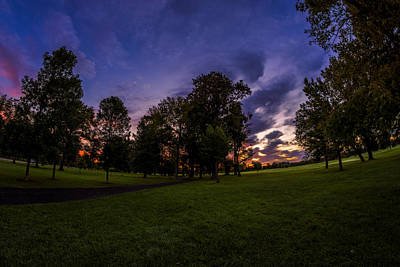Photograph - Path In Twilight Shadow  by Chris Bordeleau