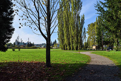 Photograph - Path In Vanderyacht Park by Tom Cochran