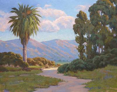 Painting - Path Into The Valley by Sharon Weaver