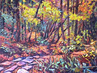 Painting - Path Near Pandapas by Kendall Kessler