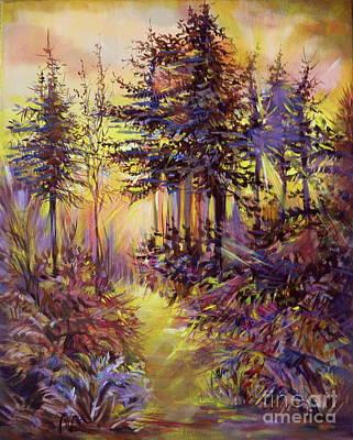 Path Of Illusions Art Print by Anna  Duyunova