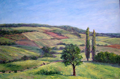 Painting - Path Of The Monsignor by Jill Musser