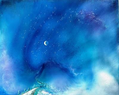 Path Of The Morning Star Art Print by Lee Pantas
