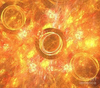 Solar Eclipse Digital Art - Path Of Totality by Kim Sy Ok