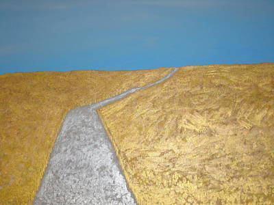 Rocca Painting - Path  by Sarah England-Rocca