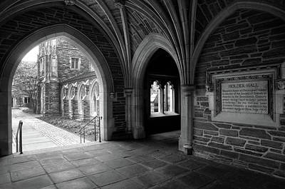 Photograph - Path Through Holder Hall by Dave Mills