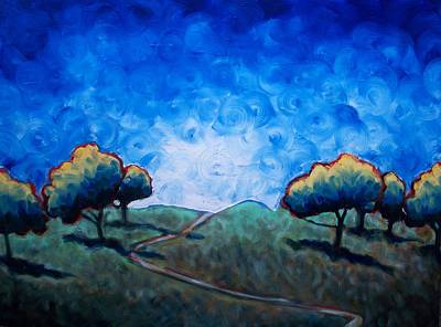 Path Through Las Trampas Art Print by Sheila Tajima