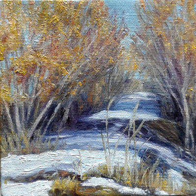 Painting - Path Through The Bosque by Candi Hogan