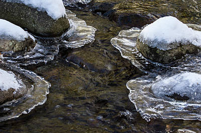 Photograph - Path Through The Ice by Jean Noren