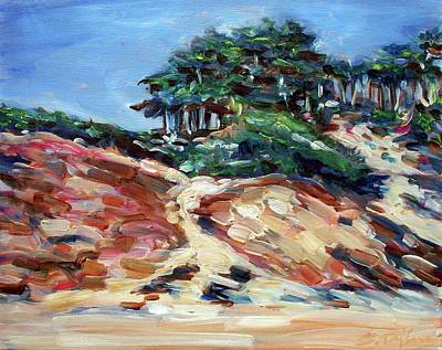 Painting - Path To Baker Beach by Sheila Tajima