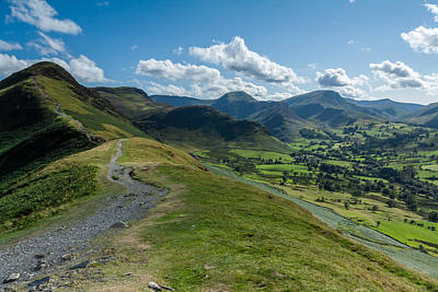 Photograph - Path To Catbells by Stuart Gennery