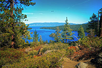 Photograph - Path To Emerald Bay Lake Tahoe by LeeAnn McLaneGoetz McLaneGoetzStudioLLCcom