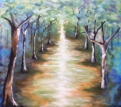 Painting - Path To Enlightenment by Jacqueline Martin