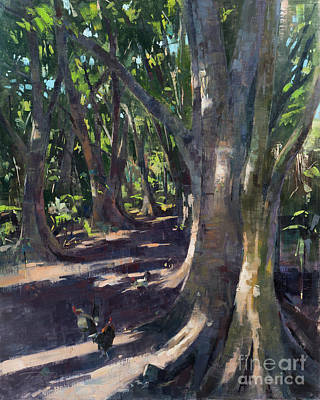 Painting - Path To Honolua Bay by Patrick Saunders