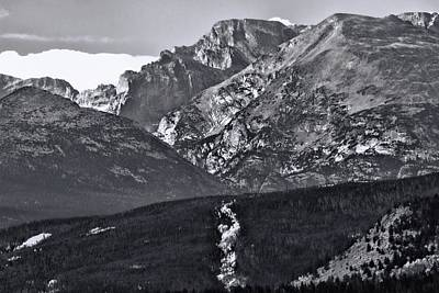 Photograph - Path To Longs Peak by Dan Sproul