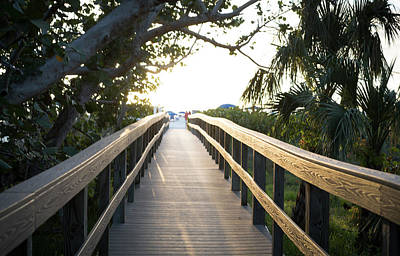 Digital Art - Path To Marco Island Beach by Susan Stone
