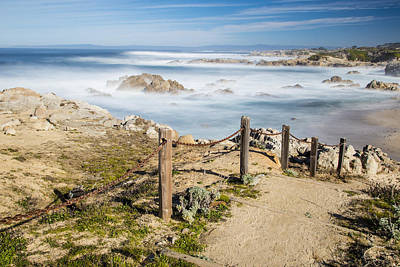 Photograph - Path To Pacific Ocean by John McGraw