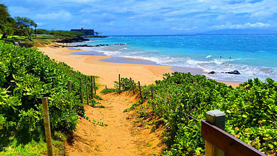 Photograph - Path To Paradise, Hawaii  by Michael Rucker